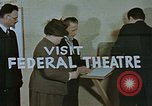 Image of Federal theater San Francisco California USA, 1939, second 28 stock footage video 65675041900