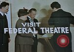 Image of Federal theater San Francisco California USA, 1939, second 31 stock footage video 65675041900