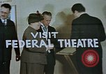 Image of Federal theater San Francisco California USA, 1939, second 32 stock footage video 65675041900