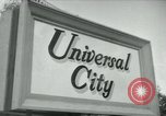 Image of Universal City Hollywood Los Angeles California USA, 1964, second 1 stock footage video 65675041913