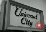 Image of Universal City Hollywood Los Angeles California USA, 1964, second 6 stock footage video 65675041913
