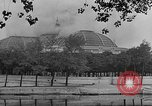 Image of Grand Palace on fire France, 1944, second 6 stock footage video 65675041924