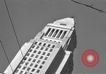 Image of City Hall Los Angeles Los Angeles California USA, 1950, second 5 stock footage video 65675041955