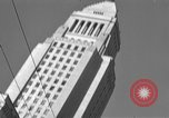Image of City Hall Los Angeles Los Angeles California USA, 1950, second 6 stock footage video 65675041955
