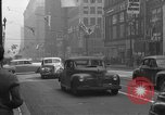 Image of Street scenes Los Angeles California USA, 1950, second 15 stock footage video 65675041956