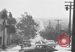 Image of La Cienega Blvd, City Hall, and Hollywood Memorial Park Cemetery Los Angeles California USA, 1950, second 28 stock footage video 65675041957