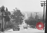 Image of La Cienega Blvd, City Hall, and Hollywood Memorial Park Cemetery Los Angeles California USA, 1950, second 31 stock footage video 65675041957