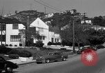 Image of La Cienega Blvd, City Hall, and Hollywood Memorial Park Cemetery Los Angeles California USA, 1950, second 47 stock footage video 65675041957