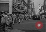 Image of South Broadway shopping Los Angeles Los Angeles California USA, 1950, second 25 stock footage video 65675041962
