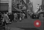 Image of South Broadway shopping Los Angeles Los Angeles California USA, 1950, second 26 stock footage video 65675041962