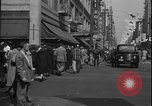 Image of South Broadway shopping Los Angeles Los Angeles California USA, 1950, second 27 stock footage video 65675041962