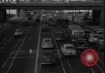 Image of South Broadway shopping Los Angeles Los Angeles California USA, 1950, second 52 stock footage video 65675041962