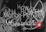 Image of how motion picture projectors, cameras, and optical sound works United States USA, 1939, second 10 stock footage video 65675041965