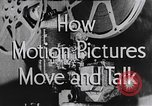 Image of how motion picture projectors, cameras, and optical sound works United States USA, 1939, second 17 stock footage video 65675041965