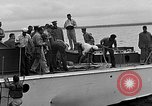 Image of PT-10 rescue boats Eglin Air Force Base Okaloosa County Florida USA, 1952, second 58 stock footage video 65675042021