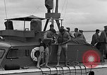 Image of PT-10 rescue boats Eglin Air Force Base Okaloosa County Florida USA, 1952, second 62 stock footage video 65675042021