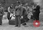 Image of Search for crashed USAF C-47 aircraft San Giacomo di Entracque Italy, 1954, second 46 stock footage video 65675042032
