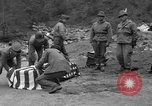 Image of Search for crashed USAF C-47 aircraft San Giacomo di Entracque Italy, 1954, second 56 stock footage video 65675042032