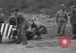 Image of Search for crashed USAF C-47 aircraft San Giacomo di Entracque Italy, 1954, second 60 stock footage video 65675042032