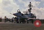 Image of USS Constellation launching aircraft during Vietnam War Yankee Station Vietnam, 1967, second 12 stock footage video 65675042047