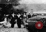 Image of Three women strolling in a park Paris France, 1907, second 1 stock footage video 65675042050
