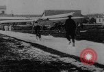 Image of man attempts to fly bicycle with wings France, 1912, second 3 stock footage video 65675042052