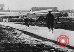 Image of man attempts to fly bicycle with wings France, 1912, second 15 stock footage video 65675042052