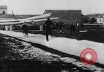 Image of man attempts to fly bicycle with wings France, 1912, second 16 stock footage video 65675042052
