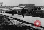 Image of man attempts to fly bicycle with wings France, 1912, second 18 stock footage video 65675042052