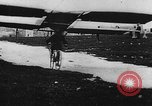 Image of man attempts to fly bicycle with wings France, 1912, second 24 stock footage video 65675042052
