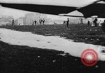 Image of man attempts to fly bicycle with wings France, 1912, second 25 stock footage video 65675042052