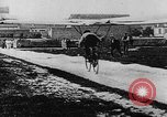 Image of man attempts to fly bicycle with wings France, 1912, second 27 stock footage video 65675042052