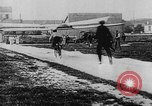 Image of man attempts to fly bicycle with wings France, 1912, second 28 stock footage video 65675042052