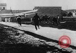 Image of man attempts to fly bicycle with wings France, 1912, second 29 stock footage video 65675042052