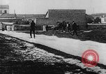Image of man attempts to fly bicycle with wings France, 1912, second 31 stock footage video 65675042052
