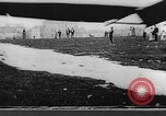 Image of man attempts to fly bicycle with wings France, 1912, second 36 stock footage video 65675042052