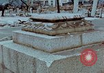 Image of granite stone lantern Hiroshima Japan, 1946, second 6 stock footage video 65675042127
