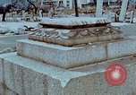 Image of granite stone lantern Hiroshima Japan, 1946, second 8 stock footage video 65675042127