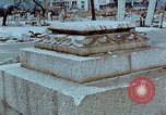 Image of granite stone lantern Hiroshima Japan, 1946, second 16 stock footage video 65675042127