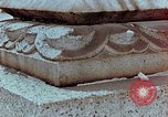 Image of granite stone lantern Hiroshima Japan, 1946, second 17 stock footage video 65675042127