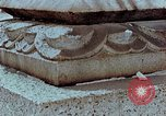 Image of granite stone lantern Hiroshima Japan, 1946, second 18 stock footage video 65675042127