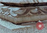 Image of granite stone lantern Hiroshima Japan, 1946, second 19 stock footage video 65675042127