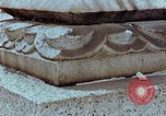 Image of granite stone lantern Hiroshima Japan, 1946, second 20 stock footage video 65675042127