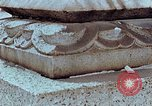 Image of granite stone lantern Hiroshima Japan, 1946, second 21 stock footage video 65675042127