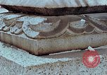 Image of granite stone lantern Hiroshima Japan, 1946, second 22 stock footage video 65675042127