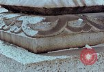 Image of granite stone lantern Hiroshima Japan, 1946, second 23 stock footage video 65675042127