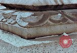Image of granite stone lantern Hiroshima Japan, 1946, second 24 stock footage video 65675042127