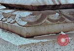 Image of granite stone lantern Hiroshima Japan, 1946, second 25 stock footage video 65675042127