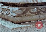 Image of granite stone lantern Hiroshima Japan, 1946, second 26 stock footage video 65675042127