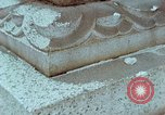 Image of granite stone lantern Hiroshima Japan, 1946, second 31 stock footage video 65675042127